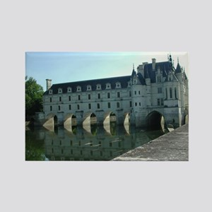 Chenonceau 3 Rectangle Magnet