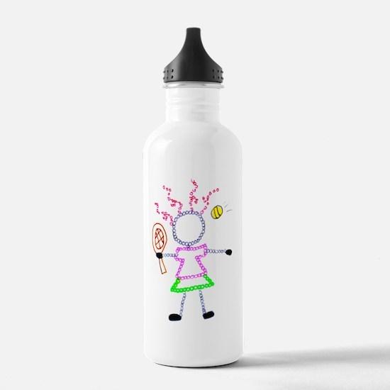 Tennis Girl - ArtinJoy Water Bottle