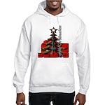 frohe Weihnachten Hooded Sweatshirt