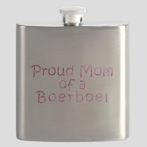 Proud Mom of a Boerboel Flask