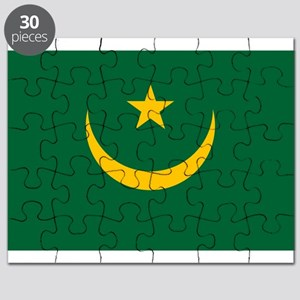 Mauritania - National Flag - Current Puzzle
