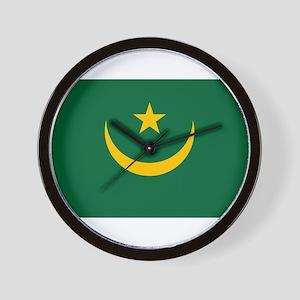 Mauritania - National Flag - Current Wall Clock