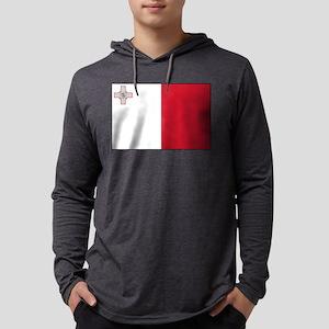Malta - National Flag - Current Mens Hooded Shirt