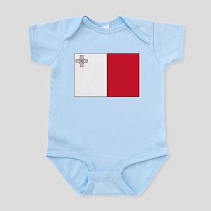 Malta - National Flag - Current Infant Bodysuit