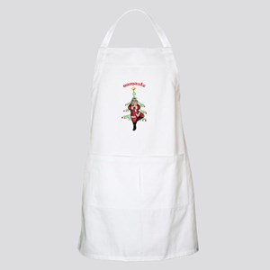 Santa Tree Pose Apron