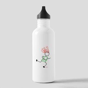 Runner pic Stainless Water Bottle 1.0L