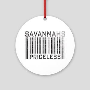 Savannahs Priceless Ornament (Round)