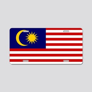 Malaysia - National Flag - Current Aluminum Licens