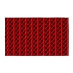 Red Lightning Look 3'x5' Area Rug
