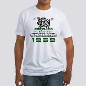 Earth Pig 1959 Fitted T-Shirt