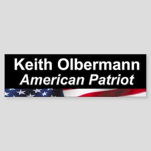 Keith Olbermann, American Patriot Bumper Sticker
