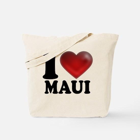I Heart Maui Tote Bag