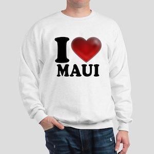 I Heart Maui Sweatshirt