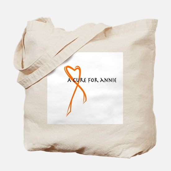 A Cure For Annie Logo Tote Bag