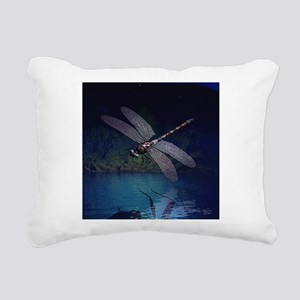 dragonfly10asq Rectangular Canvas Pillow