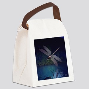 dragonfly10asq Canvas Lunch Bag
