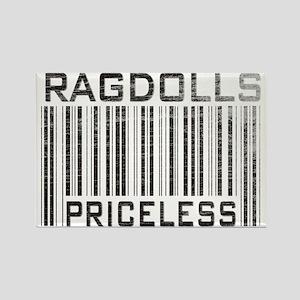 Ragdolls Priceless Rectangle Magnet