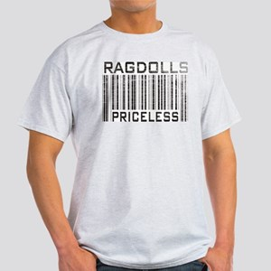 Ragdolls Priceless Ash Grey T-Shirt