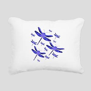 dragonfly4b Rectangular Canvas Pillow