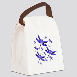 dragonfly4b Canvas Lunch Bag