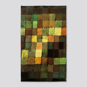 Paul Klee Ancient Sounds 3'x5' Area Rug
