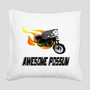 cycle2 Square Canvas Pillow