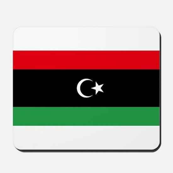 Libya - National Flag - Current Mousepad