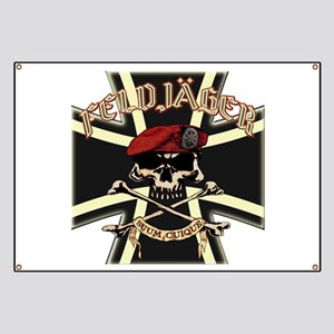 Feldjager mit Bundeswehr Kruez Banner