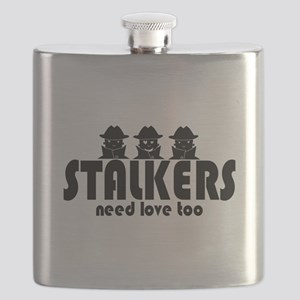 stalkers-white Flask