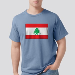Lebanon - National Flag - Current Mens Comfort Col