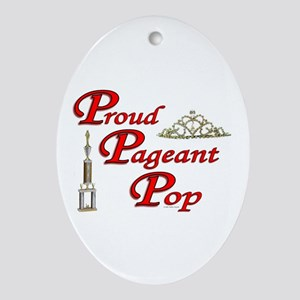 Pageant Pop Oval Ornament