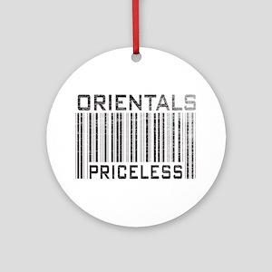 Orientals Priceless Ornament (Round)