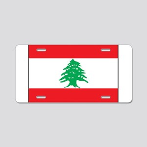Lebanon - National Flag - Current Aluminum License