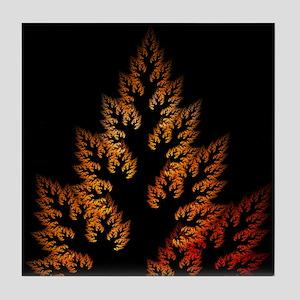 Tile Coaster - Burning Bush