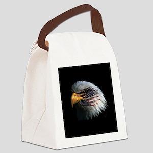 eagle3d Canvas Lunch Bag