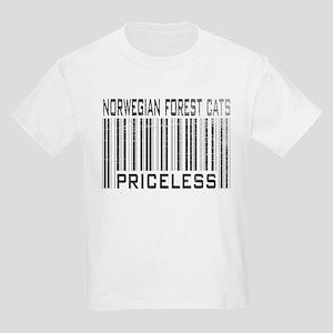 Norwegian Forest Cats Priceless Kids T-Shirt