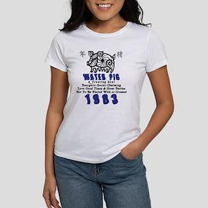 Water Pig 1983 Women's T-Shirt