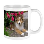 Puppy in the Roses Mug