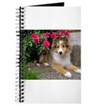 Puppy in the Roses Journal