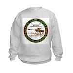 Army Sniper Custom Logo Kids Sweatshirt