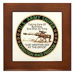 Army Sniper Custom Logo Framed Tile