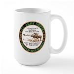 Army Sniper Custom Logo Large Mug