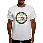 Army Sniper Custom Logo Ash Grey T-Shirt