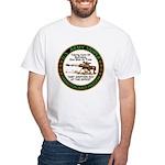Army Sniper Custom Logo White T-Shirt