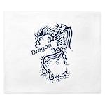 Tribal Dragon King Duvet
