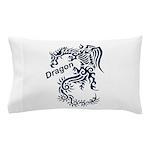 Tribal Dragon Pillow Case