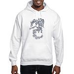 Tribal Dragon Hooded Sweatshirt