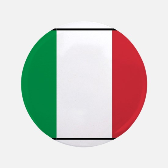 """Italy - National Flag - Current 3.5"""" Button (100 p"""