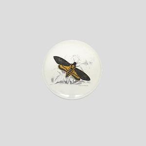 Deaths-head Hawkmoth Moth Mini Button