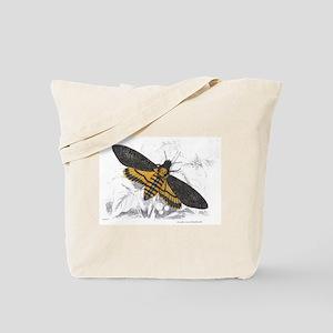 Deaths-head Hawkmoth Moth Tote Bag